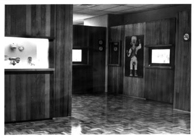 Sala con piezas prehispánicas de la cultura totonaca