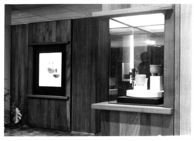 Aspecto de una sala de exhibición del Museo Carlos Pellicer