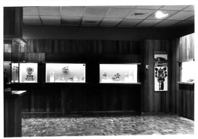 Sala en el museo Carlos Pellicer, aspecto