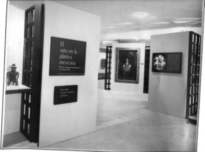 Exposición temporal El niño en la plástica mexicana, en la Galería Aristos