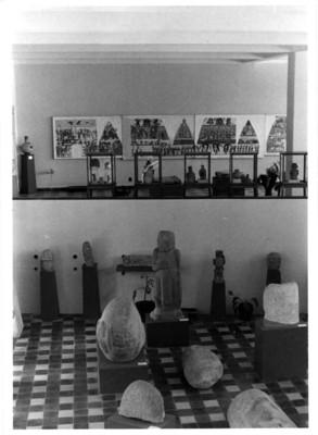 Sala arqueológica del Museo de Tuxtla Gutiérrez, aspecto del montaje