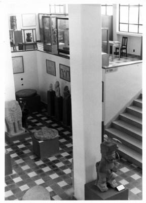 Aspecto de las salas del Museo de Tuxtla Gutiérrez
