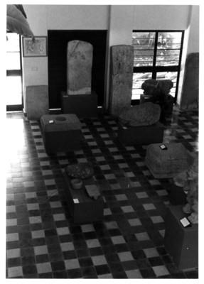 Aspecto de una sala del Museo de Tuxtla Gutiérrez