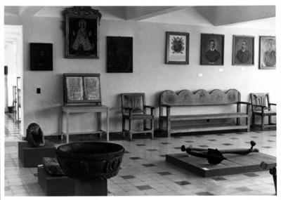 Sala de exhibición del Museo de Tuxtla Gutiérrez, aspecto
