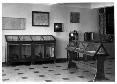 Aspecto de una sala de Museo de Tuxtla Gutiérrez