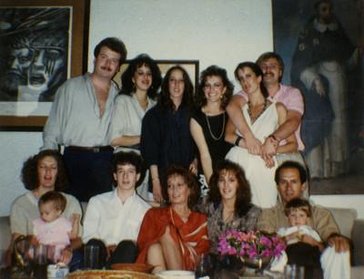 Familia de Felipe Lacouture Fornelli