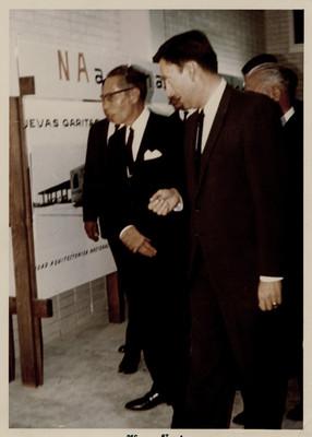 Visita del presidente Gustavo Díaz Ordaz al Museo de Arte e Historia de Ciudad Juárez, Chihuahua
