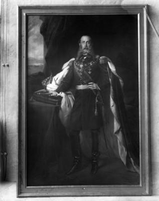 Maximiliano de Habsburgo, retrato del óleo