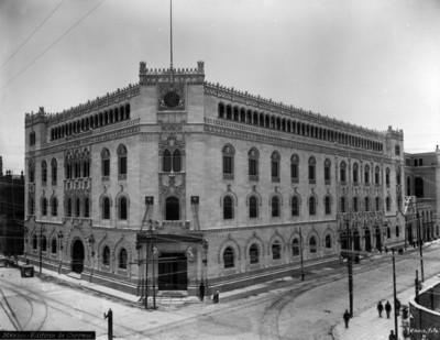 """""""México: Edificio de Correos"""", fachada"""