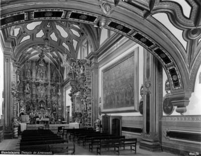 """Altar mayor del """"Templo de Aránzazu"""""""