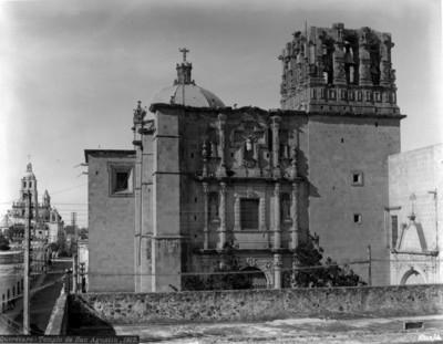 """""""Templo de San Agustín"""", fachada principal"""