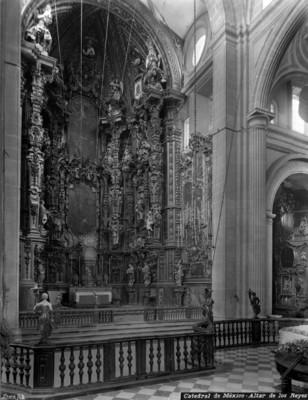 Catedral de México, Altar de los Reyes