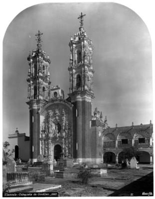 """""""Colegiata de Ocotlán"""", vista del conjunto"""
