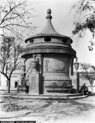 """""""Caja de agua"""" en el camino para el Santuario de Guadalupe"""