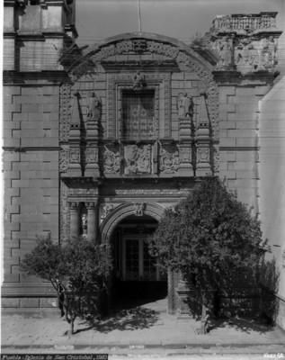 Puebla, Iglesia de San Cristobal