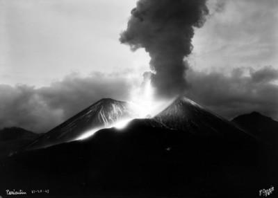 """""""El Paricutín"""", erupción"""