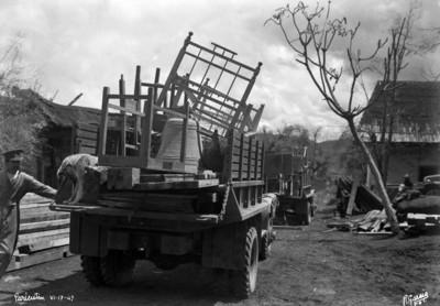 Evacuación del poblado