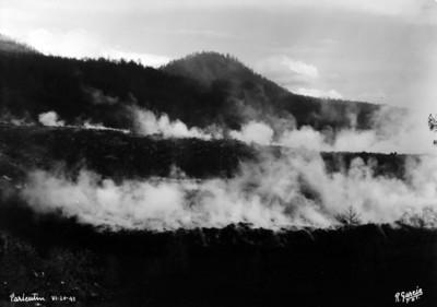 """Cercanías del """"El Paricutín"""", zona devastada por la erupción del volcán"""