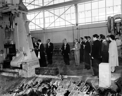 Bendición de las máquinas en la fábrica TOYODA DE MÉXICO, S.A.