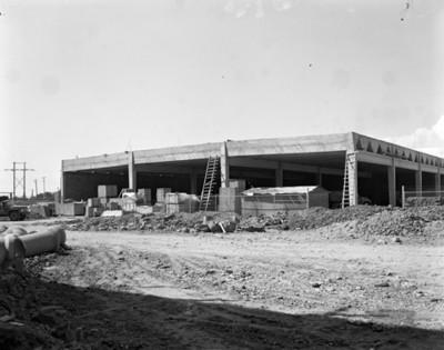 Proceso constructivo de la fábrica DATSUN, vista parcial