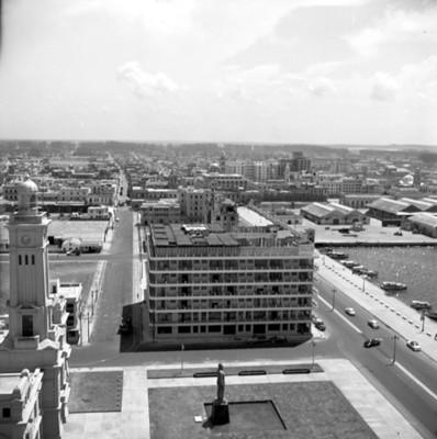 Foro Venustiano Carranza y hotel Emporio, vista panorámica