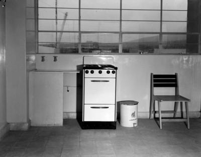 Cocina de casa habitación, interior, vista parcial