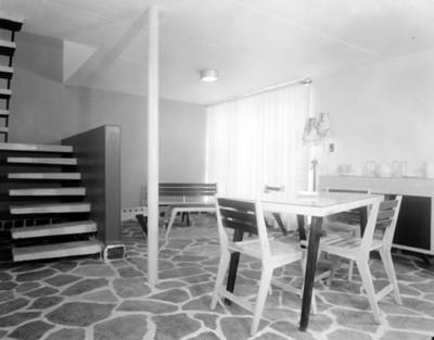 Casa habitación, interior, vista parcial