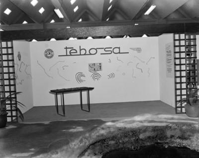 Exhibición de mangueras y tubos para frenos en planta Nissan Mexicana