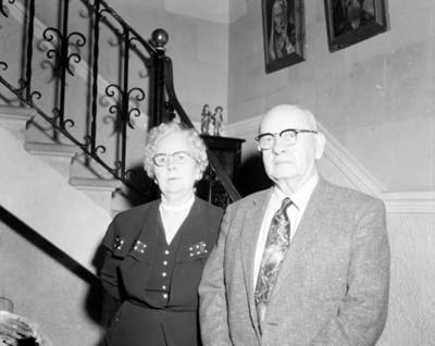 Hombre y mujer, retrato