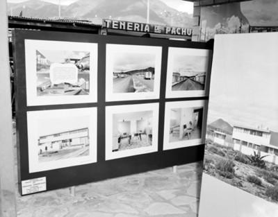 Fotografías en exposición dela Constructora Industrial Irolo