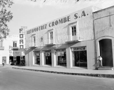 Ford Automotriz Crambe, S.A., fachada