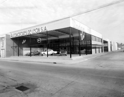 Agencia Automotores de León, vista general