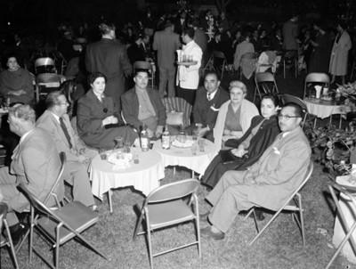 Gente en evento de la XII Convención de la ANDA, vista parcial