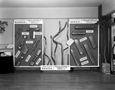 Silenciadores y tubos de escape BAMSA, exposición