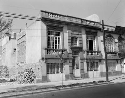Casa habitación, fachada
