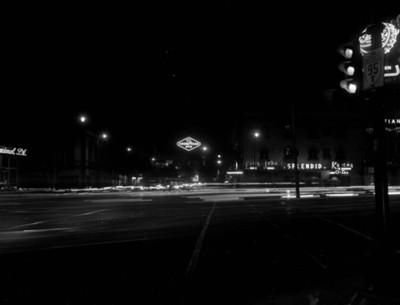 Tránsito urbano en una calle