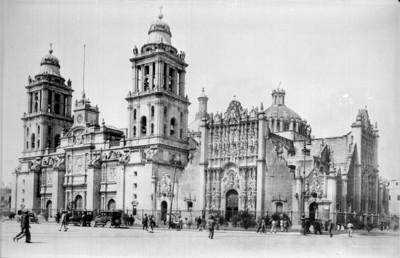 Catedral de México y Sagrario Metropolitano fachada principal