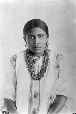 Mujer tehuana, retrato 1517