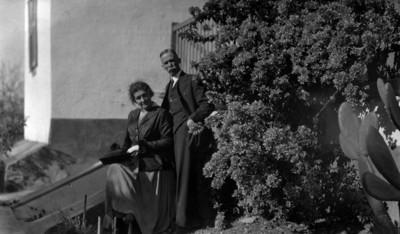 Winfield Scott y esposa, retrato