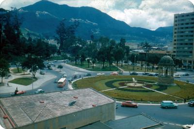 Glorieta en plaza publica de Venezuela