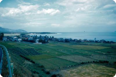 Campos de cultivo tomados desde carretera