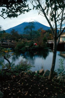 Vista del Monte Fuji desde el Hotel