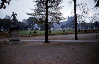Jardin de Las Tullerias, vista parcial