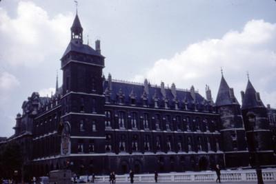 Edificio, vista lateral