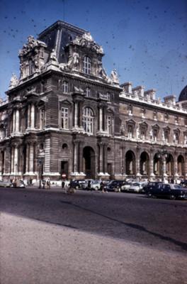 Museo de Louvre, vista parcial