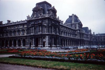 Museo de Louvre, exterior