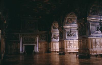Sala de Baile del Palacio de Fontainebleau, vista parcial