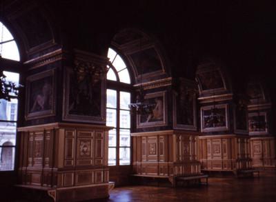 Salon de baile del Palacio de Fontainebleau