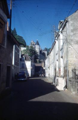 Calle en Montresor, vista parcial