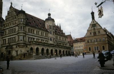 Ayuntamiento de Rothenburg y la Taberna de los Consejales